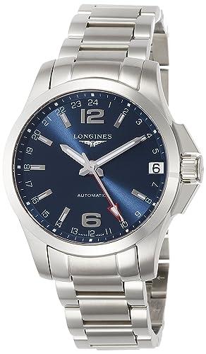 240dc5b34b4f Reloj Longines Conquest GMT Hombre L36874996  Amazon.es  Relojes