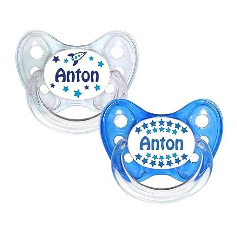 denti Star® Chupete 2 unidades de nuckel silicona en tamaño ...