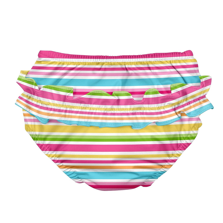 Cabana 711153-222-47 Mix und Match Schwimmwindel mit R/üschen und Druckkn/öpfen 2-3 Jahre hot pink i play