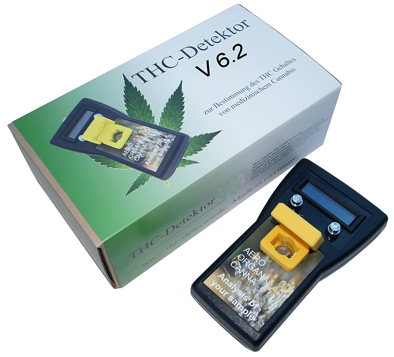 Grow THC CBD Cannabis Marihuana Digital THC Analyzer V6.2