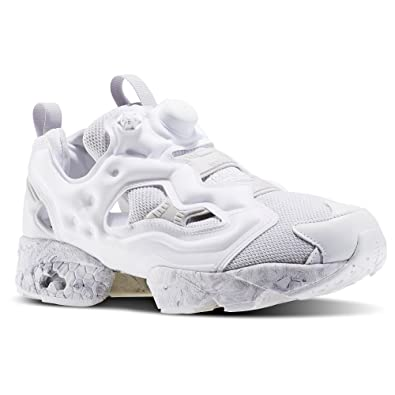 Instapump Fury Tech ACHM Mens in White/Light Solid Grey by Reebok, 8