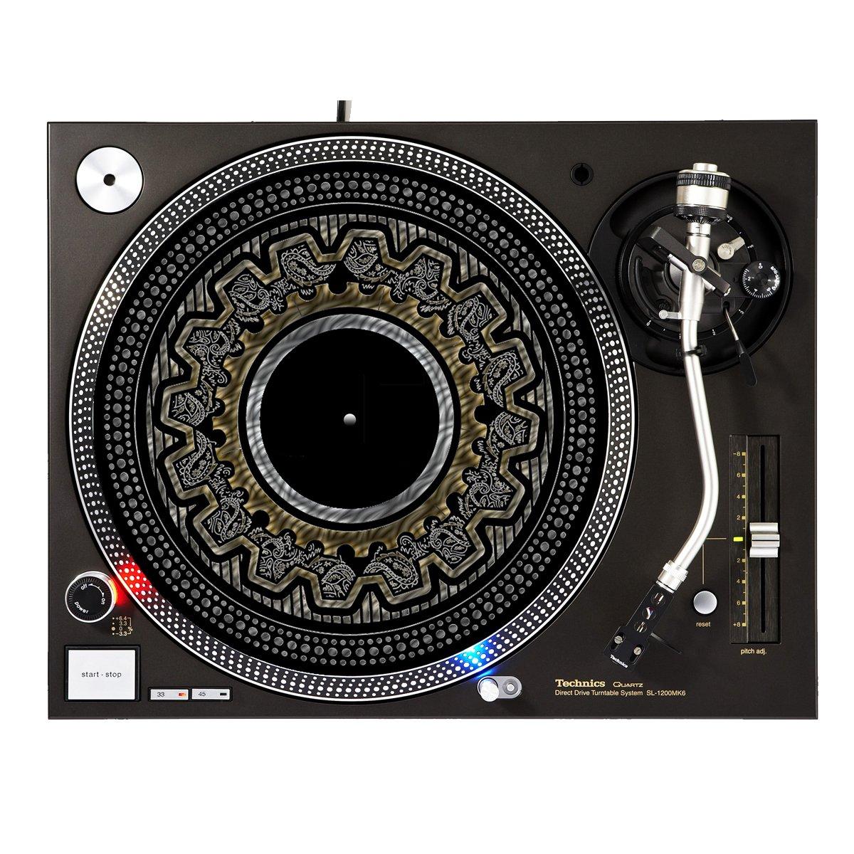 Not Silver Not Gold - DJ Turntable Slipmat Sunshine Design Cases Slipmat-276