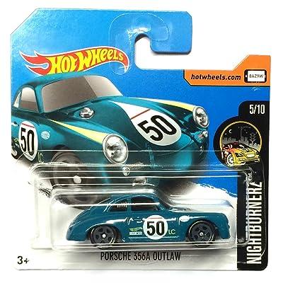 HotWheels DTX62 - Porsche 356A Outlaw #50 vert (Nightburnerz 5/10)