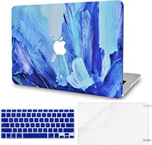 LuvCase 3 in 1 LaptopCase forMacBookAir 13 Inch A1466 / A1369 (No Touch ID)(2010-2017) HardShellCover, Keyboard Cover & Screen Protector(Oil Paint 5)