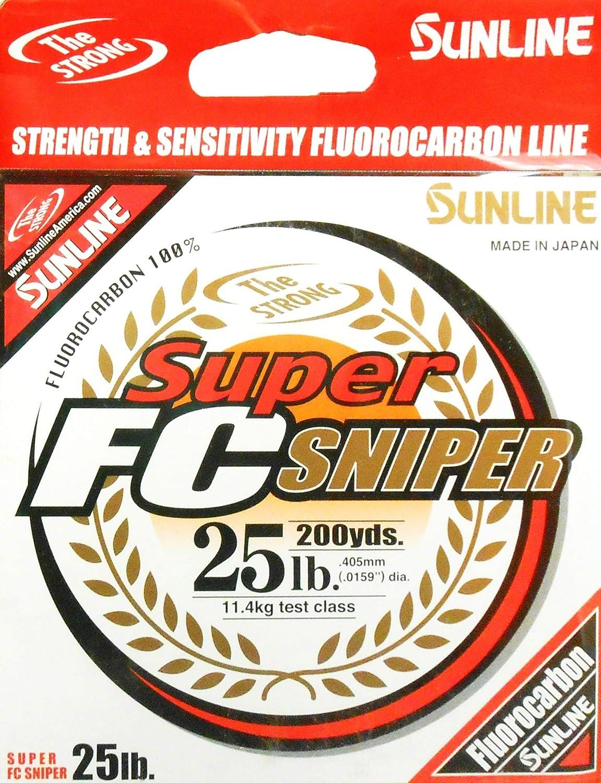 Sunline Super FC Sniper Fluorocarbon Fishing Line for Baitcaster reel
