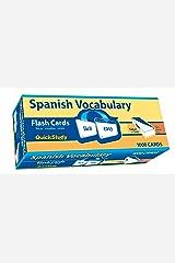 Spanish Vocabulary (Quick Study) Cards