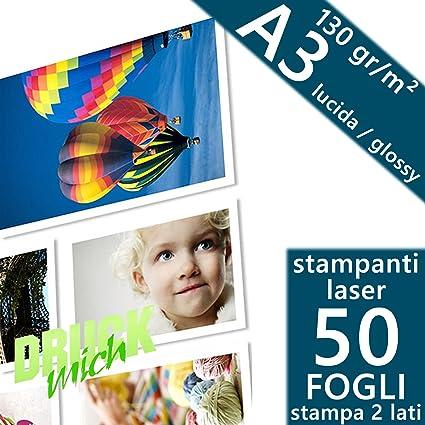 Paquete de 50 hojas de papel fotográfico adhesivo, tamaño A3 ...