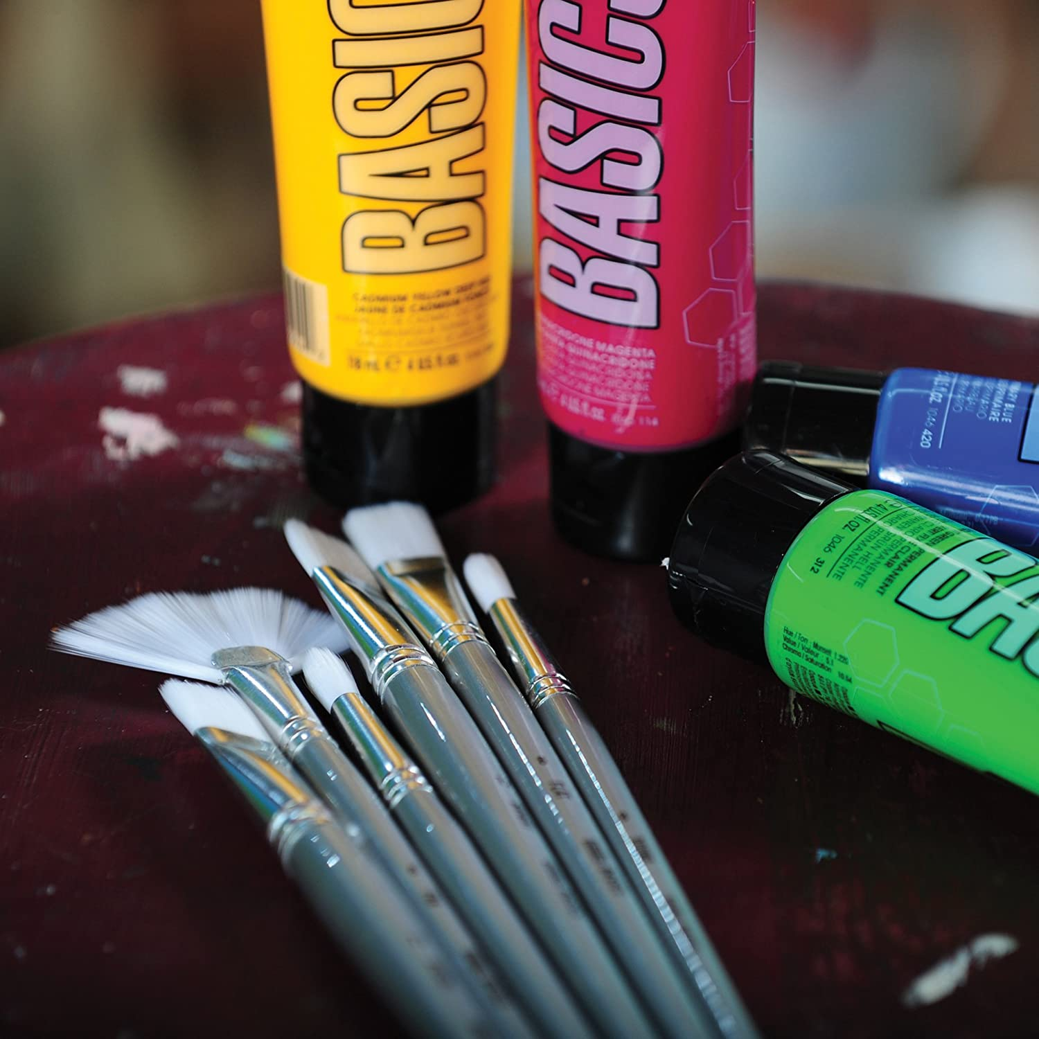 Filbert No Liquitex Basics Paint Brush 5