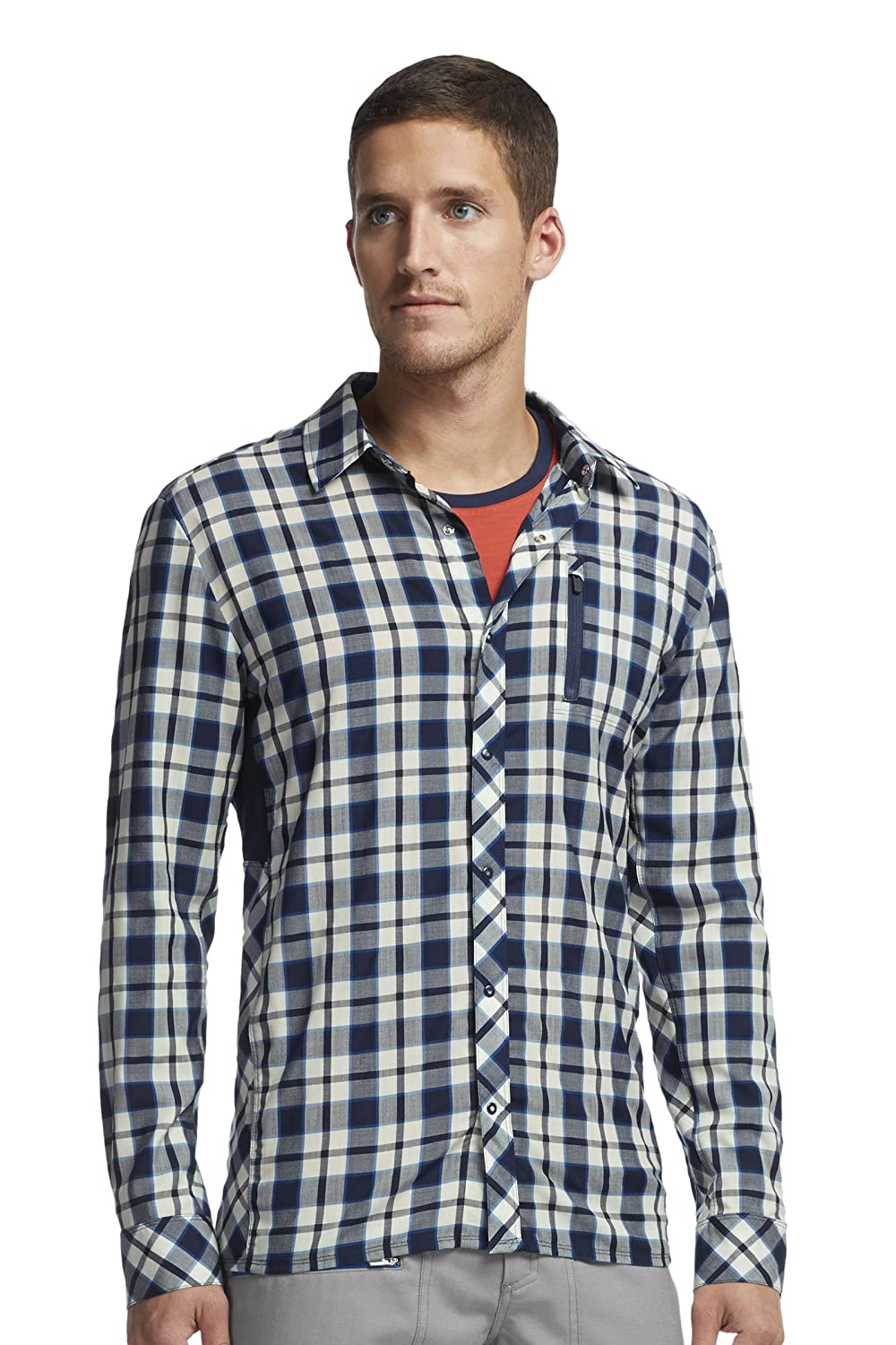 Icebreaker Herren Hemd langarm Compass Long Sleeve Shirt Plaid