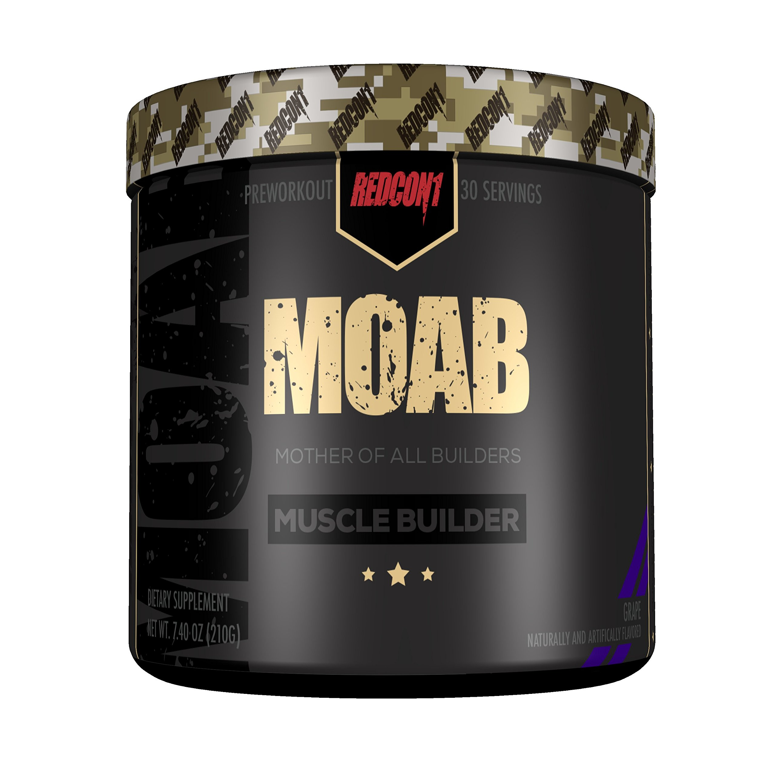 MOAB - Mother of All Builders - Muscle Builder - Grape