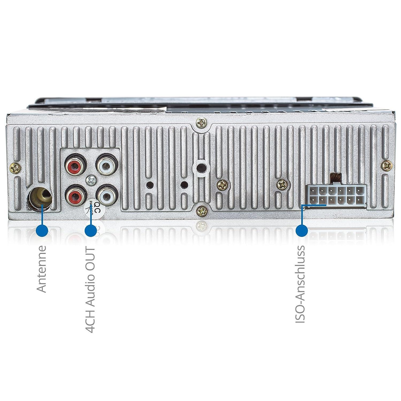 XOMAX XM-RSU251R Autoradio USB Anschluss & Micro: Amazon.de: Elektronik
