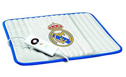 Imetec Real Madrid - Almohadilla térmica, 40 x 35 cm, rectangular, grande,