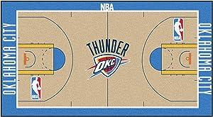 FANMATS NBA Oklahoma City Thunder Nylon Face NBA Court Runner-Small