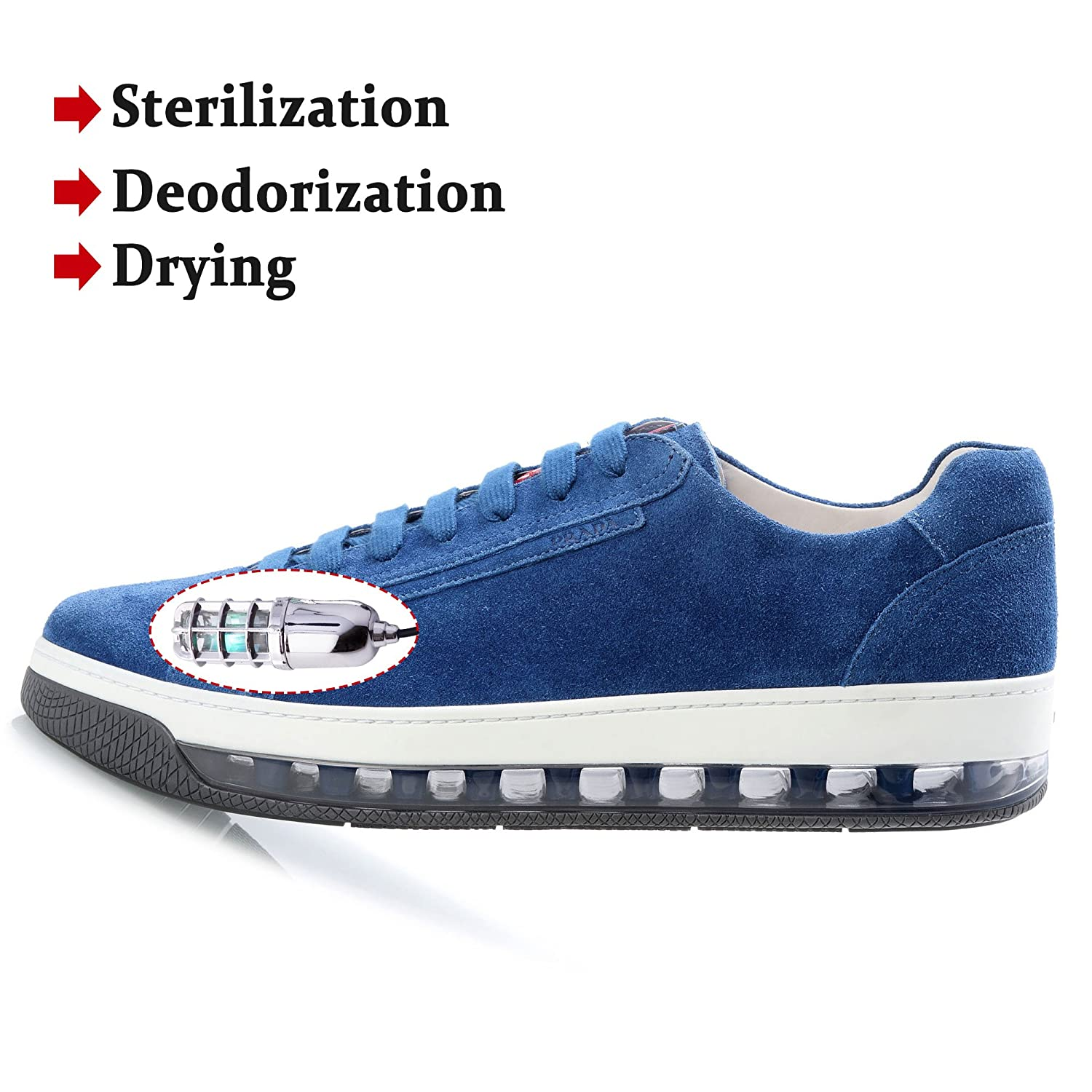 Shoes Deodorization Dryer Uv Lamp Shoe Sterillizer Ultraviolet Smell Remover Shoes Deodorant Dryer 2017 Upgrade Skin Care Tools