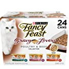 Purina Fancy Feasts Grilled Seafood Collection Wet Cat Food Variety Pack (24) 3 oz. Cans