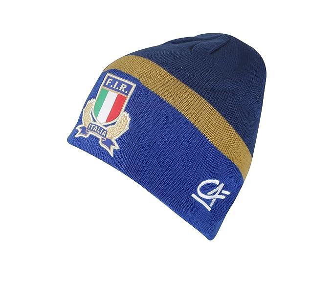 Macron Berretto Italia Rugby Blu Azzurro  Amazon.it  Sport e tempo ... ebc0cc78b4b5