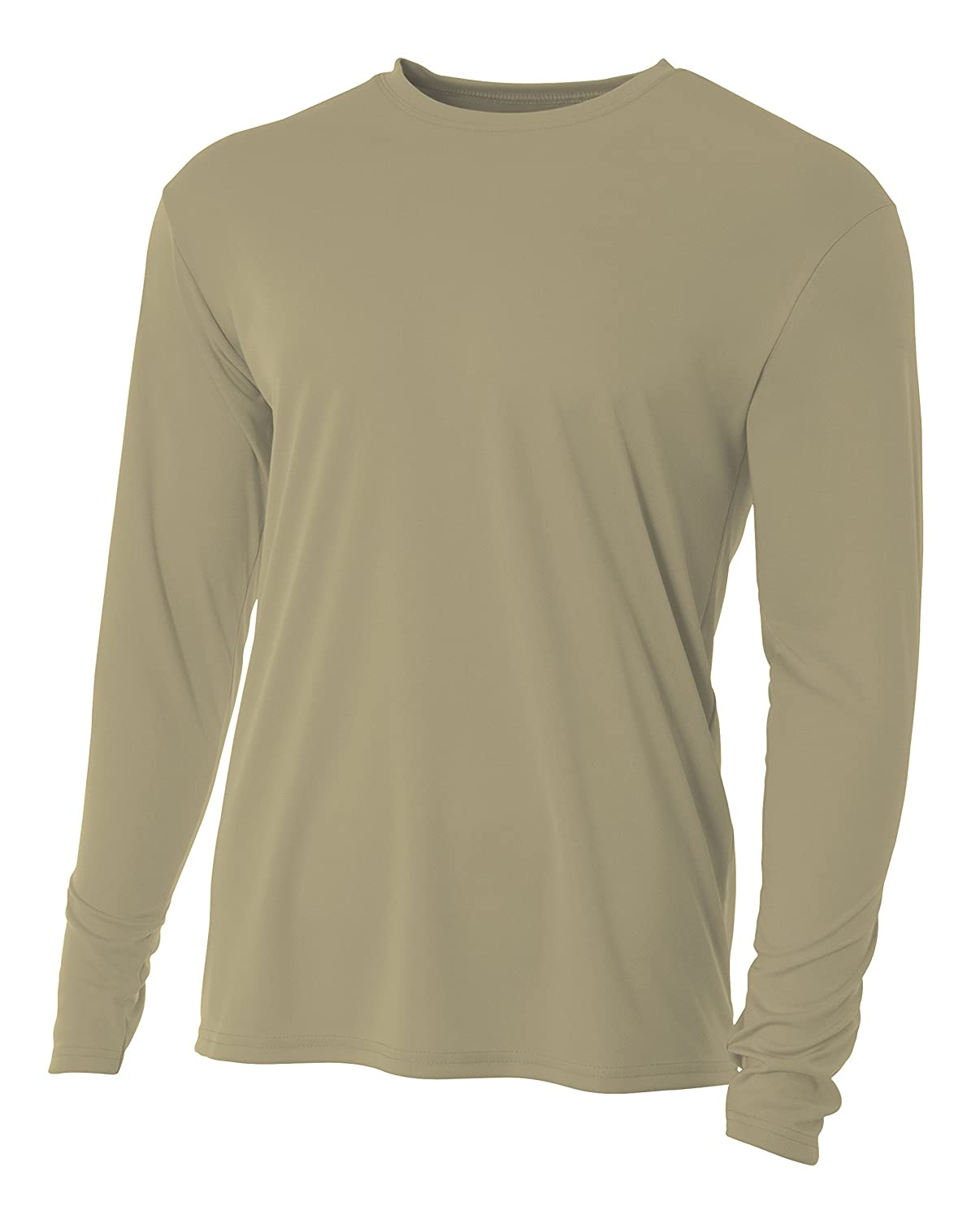 50ee91a8 Amazon.com: A4 Men's Cooling Performance Crew Long Sleeve Tee: A4: Clothing