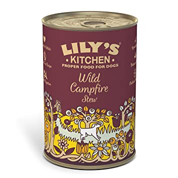 Lily\'s Kitchen Wild Campfire Stew Complete Wet Food for Dogs 400g ...