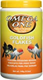 Omega One Goldfish Flakes, 5.3 oz.