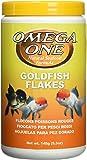 Omega One Goldfish Flakes, 5.3 oz.