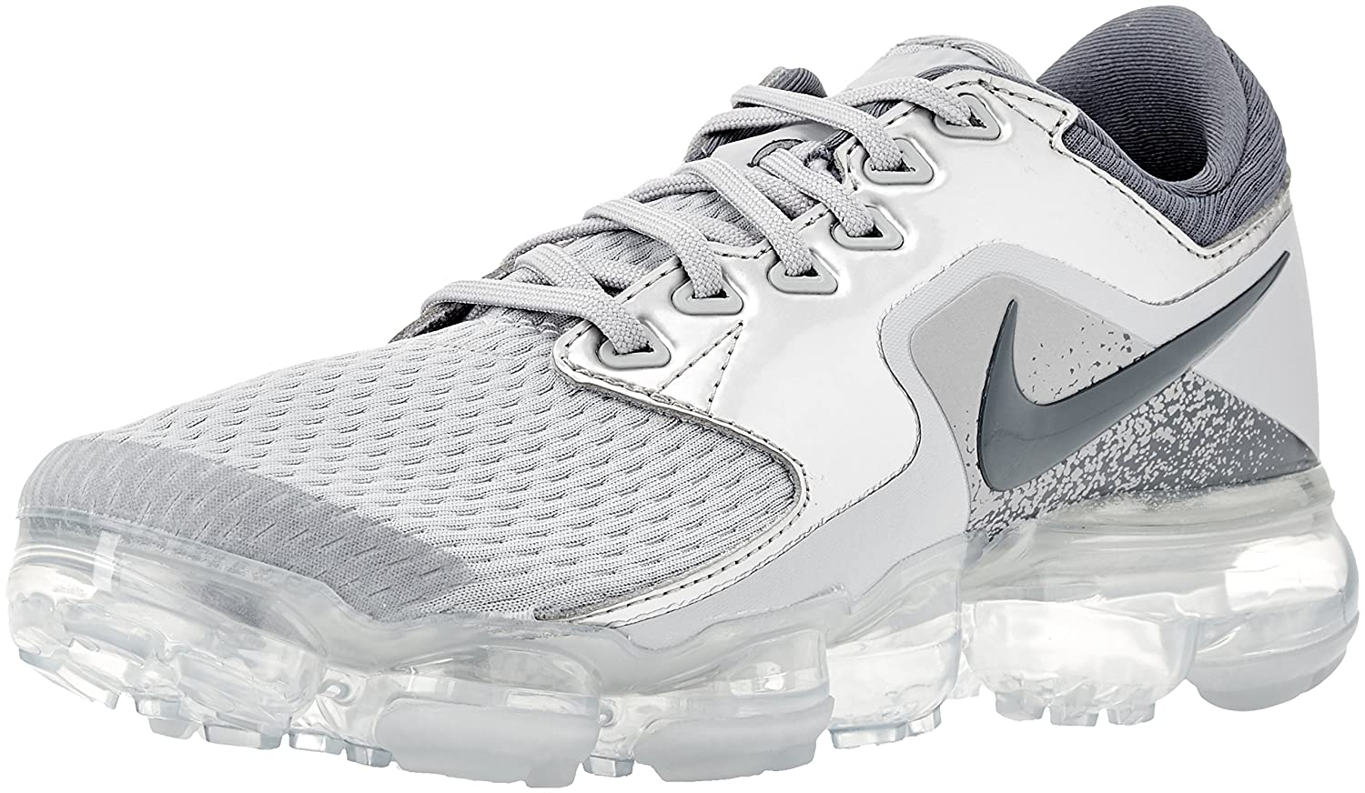 the best attitude b0888 42f8c Nike Kid's Air Vapormax GS, Wolf Grey/Light Carbon