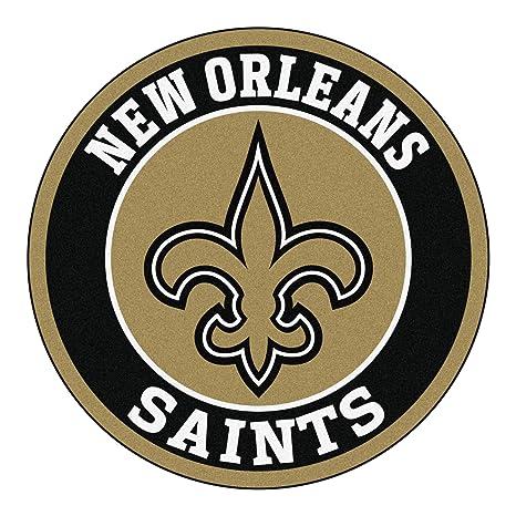 Amazon Com Fanmats 17967 Nfl New Orleans Saints Roundel Mat Automotive