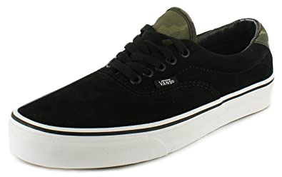 d3dce85b1b8 Vans New Mens Gents Black Suede Low Cut Lace Up Skate Shoes - Black ...