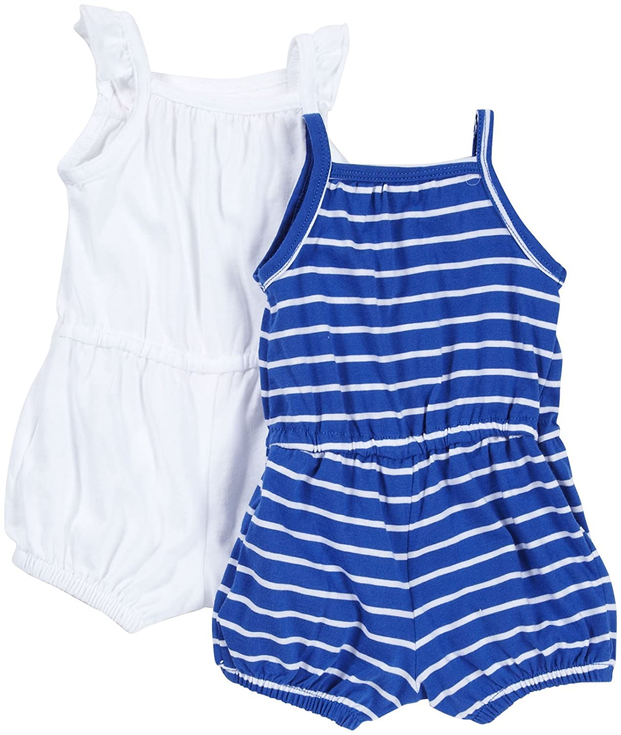 Carters Baby Girls 2-pack Jersey Rompers
