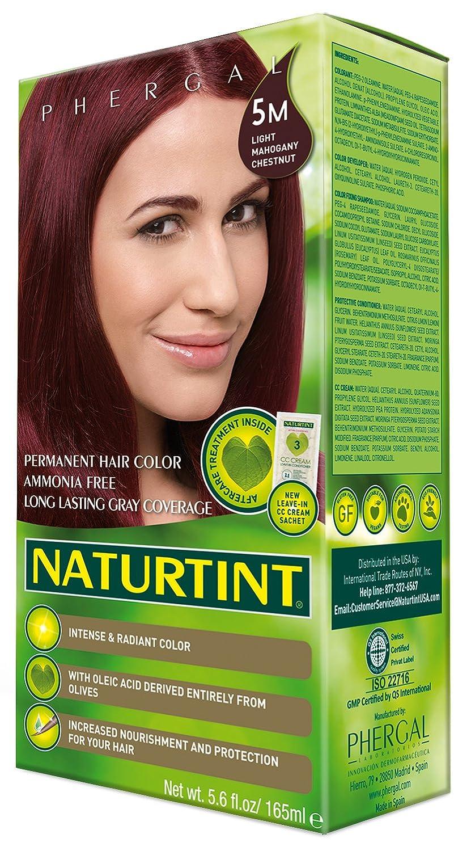Amazon Naturtint Permanent Hair Color 5m Light Mahogany