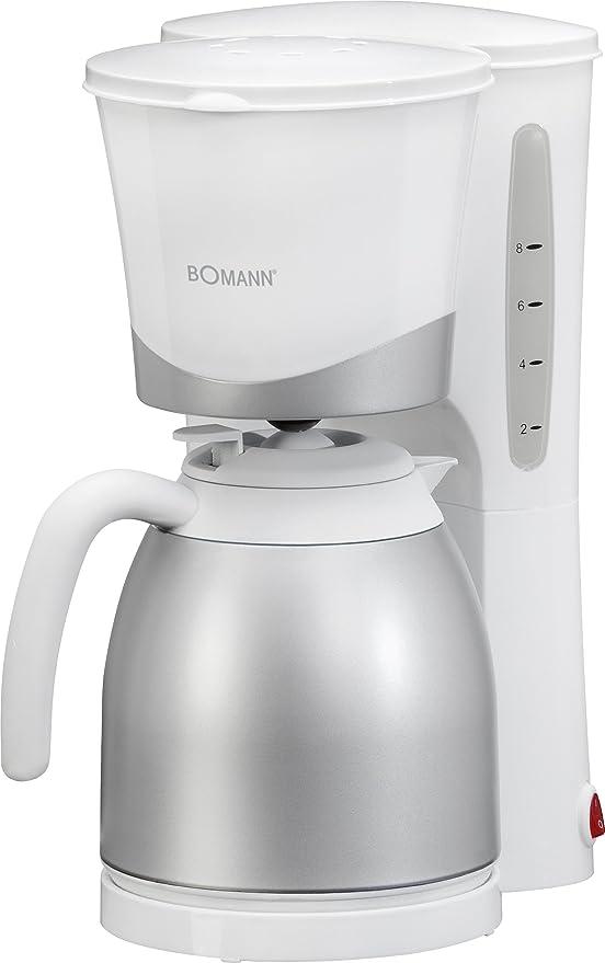Bomann KA 168 CB Cafetera de goteo con jarra termo, capacidad 8-10 ...