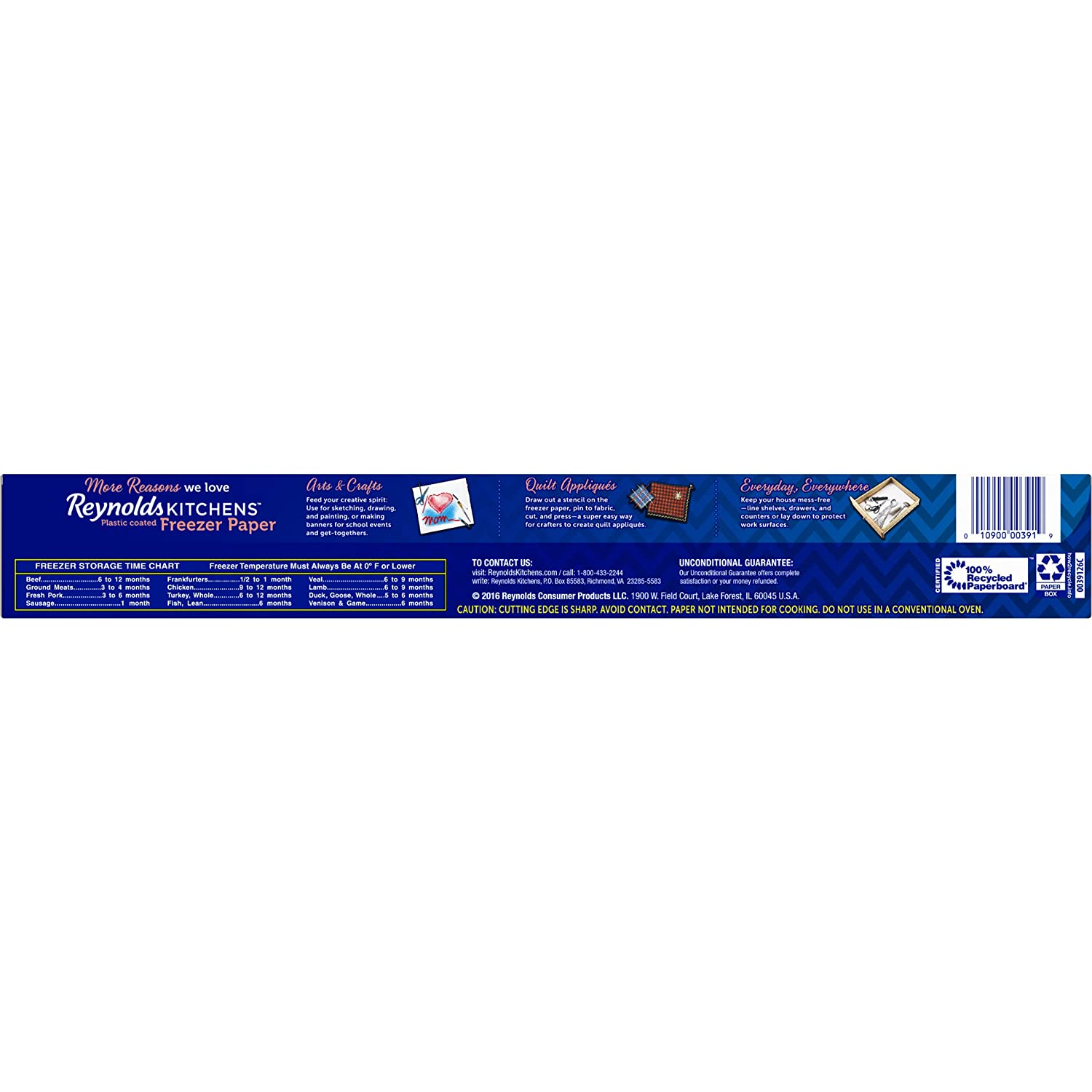 Amazon Reynolds Kitchens Freezer Paper 75 Square Foot Roll Health Personal Care