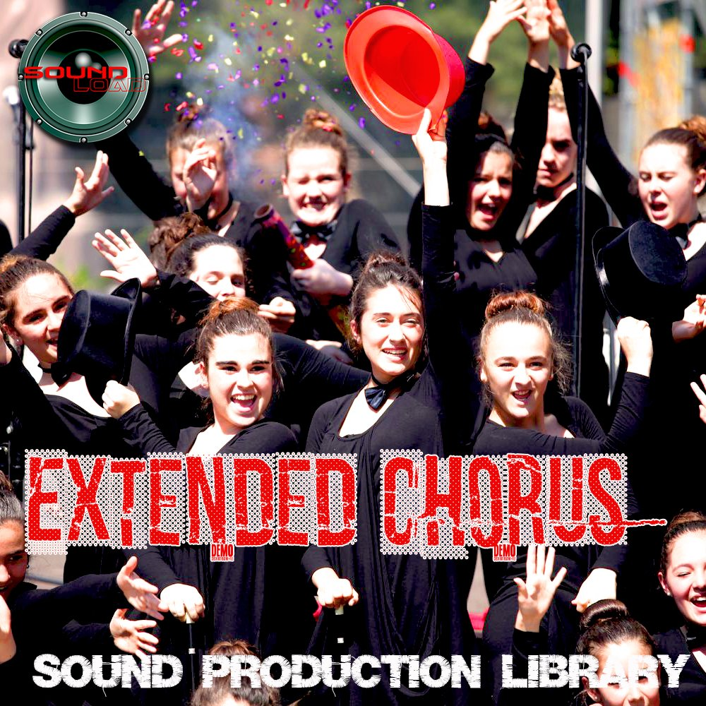 Extended CHORUS - HUGE Unique Original Multi-Layer Samples Library on DVD or for download