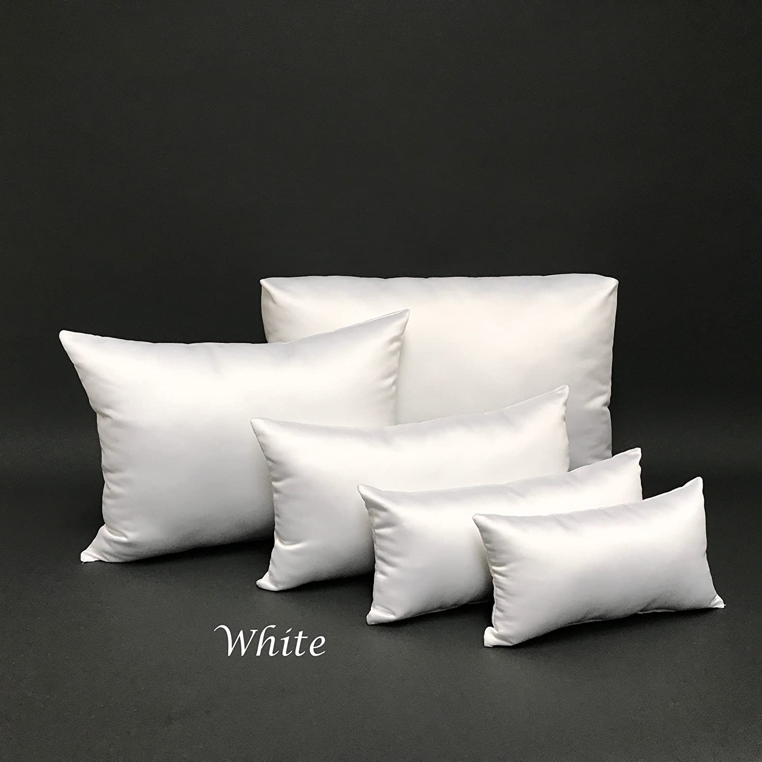PURSE PILLOW Starter Set: Satin White, Comes in 4,5 and 9 Piece New Colors and Unlimited Quantities 501