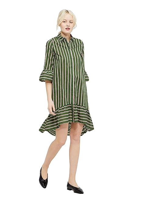b95acfa1be491 34 Y Vila Accesorios Verde Vestido Amazon Mujer Vikailey Ropa L es gqqz1H5rA