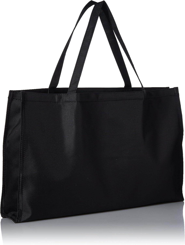 Black 12-Inch by 19-Inch Darice 5 Window Photo Tote