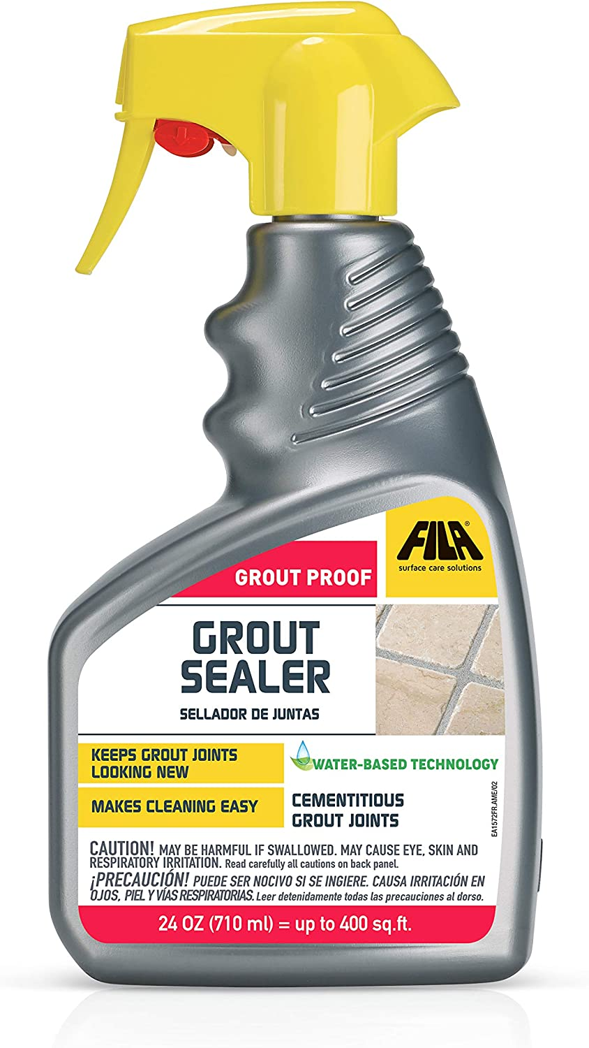 FILA Grout Sealer Spray Filagrout Proof 7 OZ, Grout Sealer for Tile and  Stone, Eco-friendly