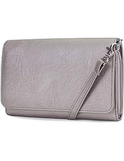 da41431e186e Mundi RFID Crossbody Bag For Women Anti Theft Travel Purse Handbag Wallet  Vegan Leather