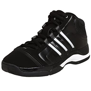 0499ec8fb0c78 Adidas Men's Supercush 3 Basketball Shoe, Black/Silver/Black, 11 M ...