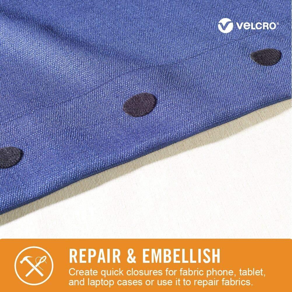 8ae66fb3b3baf Amazon.com: VELCRO Brand 91878 - Sticky Back for Fabrics: No sewing needed  - 24