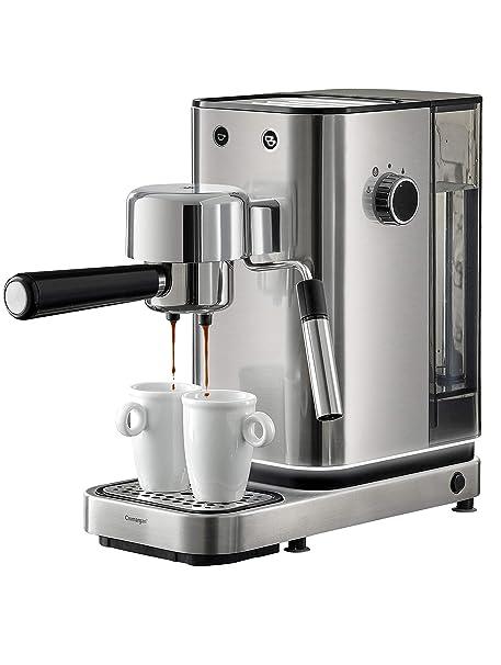 WMF Espresso Maker Lumero - Cafetera expresso manual, presión 15 bares, espresso, capuccino, regulable, capacidad 1.5 litros, café molido o monodosis, ...