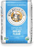 King Arthur Flour 100% Organic Bread Flour , 2 Pound (Pack of 12)