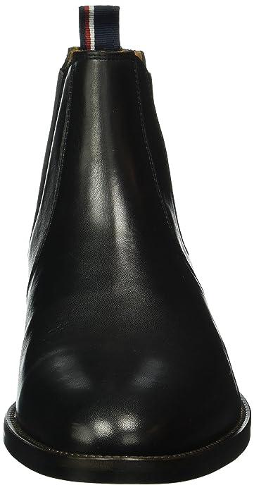 8d05248cb19c5 Tommy Hilfiger Herren D2285allen 13a Chelsea Boots  Amazon.de ...