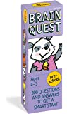 Brain Quest Preschool Q&A Cards: 300 Questions and Answers to Get a Smart Start. Curriculum-based! Teacher-approved!