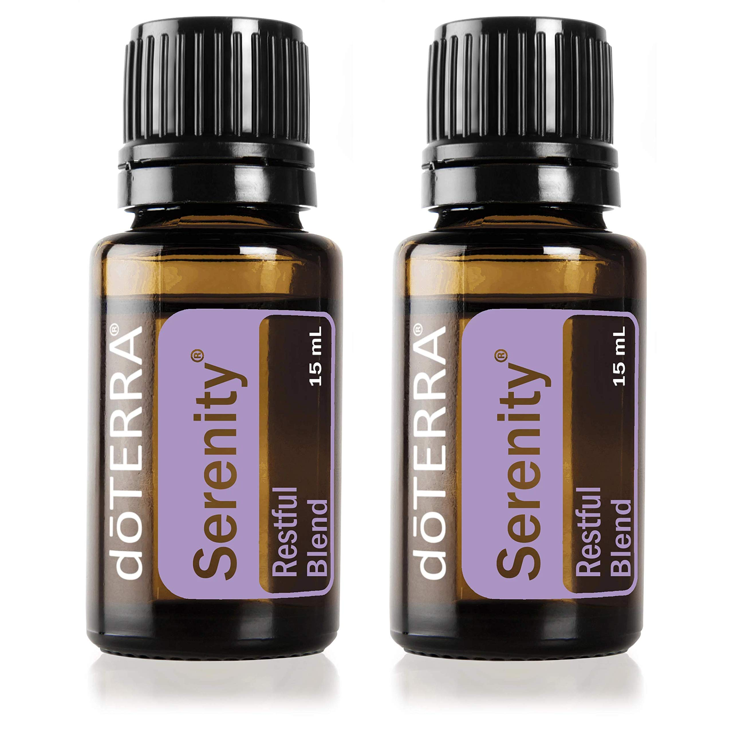 doTERRA Serenity Essential Oil Restful Blend 15 Milliliter (Pack of 2) by DoTerra