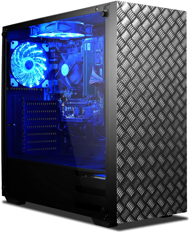 VIBOX Standard 3L Gaming PC Ordenador de sobremesa con War Thunder Cupón de juego, Windows 10 OS (3,8GHz AMD A8 Quad-Core Procesador, Radeon R7 Gráficos ...