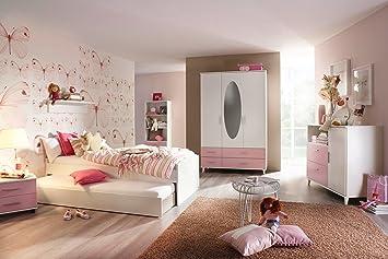 jugendzimmer kinderzimmer komplett set jugendmobel kleiderschrank bett 90 x 200