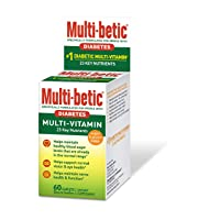 Multi-betic Multivitamin Dietary Supplement, Specifically Formulated for People...