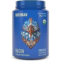 Birdman Falcon Premium Organic Plant Based Protein Powder, Vegan, Low Net Carbs, Keto, No Sugar Added, Non Dairy, Gluten…