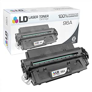 LD Remanufactured Toner Cartridge Replacement for HP 96A C4096A (Black)