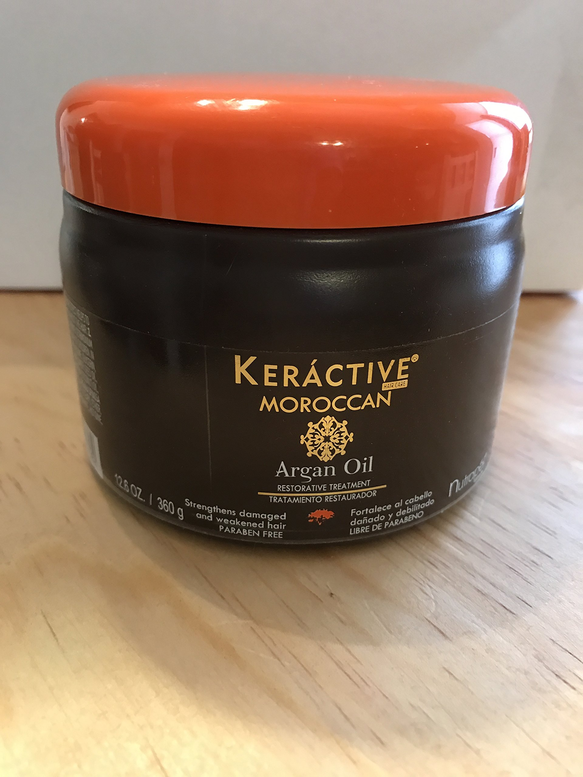 ARGAN OIL MOROCCAN KERACTIVE TREATMENT ACEITE DE ARGON CREMA TRATAMIENTO